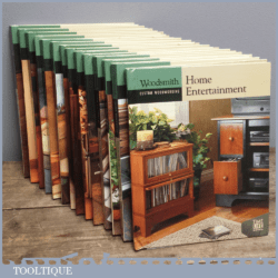 Woodsmith Custom Woodworking Book – Home Entertainment