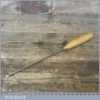 "Vintage Pattern Makers ¼"" I SORBY Firmer Gouge Paring Chisel - Fully Refurbished"