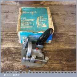 Vintage Boxed Record Z300 Corrucut Rebate And Grooving Drill Attachment