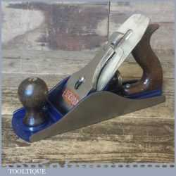 Vintage Record England No: 04 ½ Wide Bodied Smoothing Plane - Good Condition