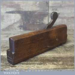 Rare Antique 18th Century Hollow Moulding Plane By Taylor - Good Condition