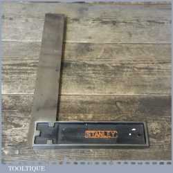 """Vintage 12"""" Stanley Sweetheart USA No: 12 Cast Steel Carpenters Square - Good Condition"""