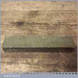 "Vintage 6 ¾ x 1 ½ x 1 "" Llyn Idwalls Natural Honing Sharpening Stone - Good Condition"