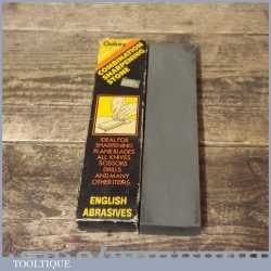 """Vintage 8"""" x 2"""" x 1"""" Oakley Combination Sharpening Oil Stone - Good Condition"""