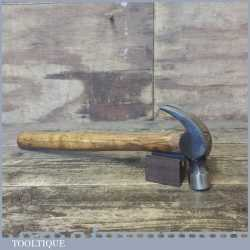 Vintage Cast Steel Claw Hammer With Wooden Handle - Good Condition