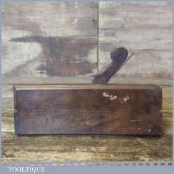 Antique 18th Century John Green Of York Ogee Moulding Plane - Good Condition