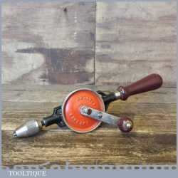 Vintage Stanley England Egg Beater Hand Drill - Refurbished Ready For Use
