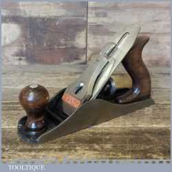 Vintage Stanley England No: 4 Smoothing Plane - Fully Refurbished Ready To Use