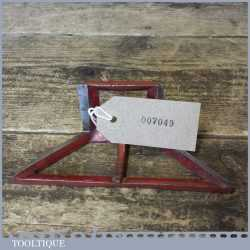 Vintage 45 Degree Steel Mitre Template - Good Condition