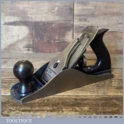 Vintage Record England No: 04 ½ Wide Bodied Smoothing Plane - Fully Refurbished