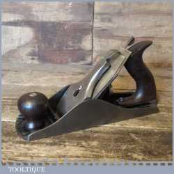 Vintage Stanley USA Low knob No: 4 ½ Wide Bodied Smoothing Plane - Refurbished