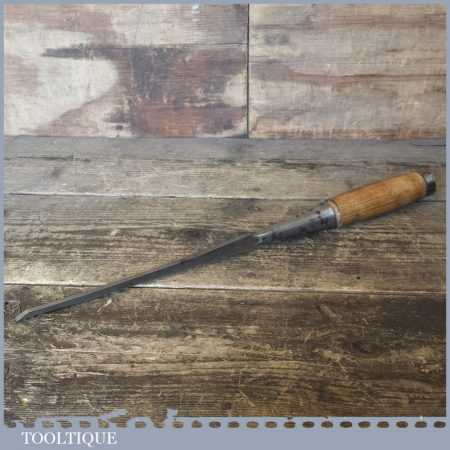"""Vintage Winsted Edge Tool Works USA ¼"""" Socket Mortise Chisel - Refurbished Ready For Use"""