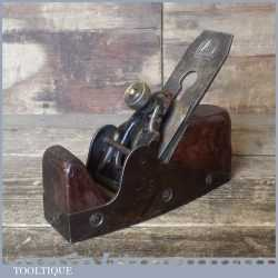 Rare Antique Edward Preston Patented Infill Smoothing Plane - Good Original Condition