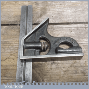 Rule JE Co - Steel Adjustable Combination Square