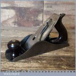 Vintage Stanley USA No: 4 ½ Wide Bodied Smoothing Plane PAT Date 1910 - Fully Refurbished