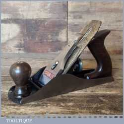 Vintage Stanley England No: 4 Smoothing Plane - Fully Refurbished Ready For Use