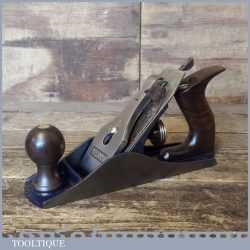 Vintage Record No: 04 Smoothing Plane - Fully Refurbished Ready For Use