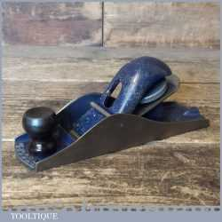 Vintage Record England No: 0110 Block Plane - Fully Refurbished Ready For Use