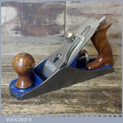 Modern Record Irwin No: 04 Smoothing Plane - Fully Refurbished Ready To Use