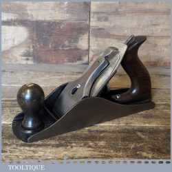 Vintage Stanley USA No: 4 ½ Wide Bodied Smoothing Plane - Fully Refurbished