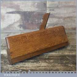 """Antique Moseley & Son London 19thCentury 7/8"""" Round Moulding Plane"""