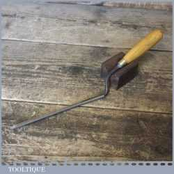 "Vintage Pattern Makers 3/8"" Cranked Firmer Gouge Paring Chisel - Fully Refurbished"