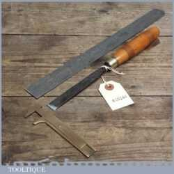 Vintage Forged Steel Carving Chisel by Murry of Manchester
