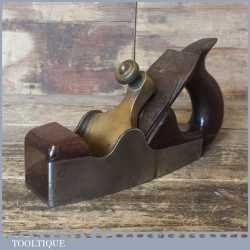 Antique Alex Mathieson Dovetailed Smoothing Plane Rosewood Infill