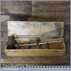 Vintage Moore And Wright No: 405 Engineers Surface Height Gauge With Attachments