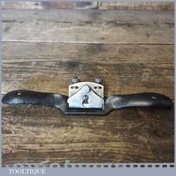Vintage Stanley No: 151 Flat Soled Adjustable Metal Spokeshave - Fully Refurbished