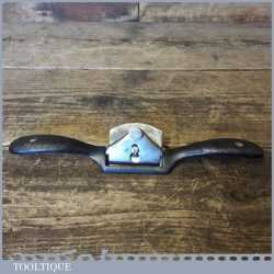 Vintage Stanley No: 51 Flat Soled Metal Spokeshave - Fully Refurbished