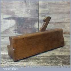 "Antique No: 7 Moseley & Son 3/4"" Common Ogee Beechwood Moulding Plane"