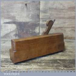 Antique No: 7 Dabbs 18th Century c.1799 Quirk Ogee Beechwood Moulding Plane