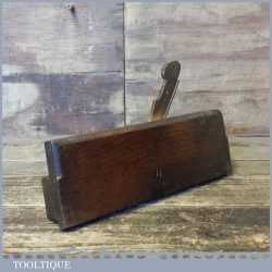 "Antique 5/8"" Common Ogee Beech Wood Moulding Plane - Good Condition"