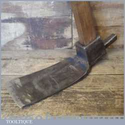 Vintage Carpenters Adze By W Gilpin - Sharpened And Honed