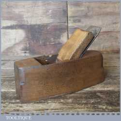 Vintage Griffith Norwich Beechwood Smoothing Block Plane