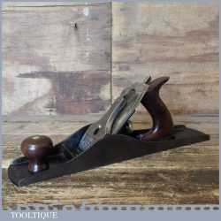 Antique Stanley Rule & Level Bedrock No: 605½ Fore Plane PAT Dated Apr-2-1895