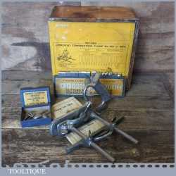 Vintage Boxed Record No: 050A Combination Plough Plane - Fully Refurbished