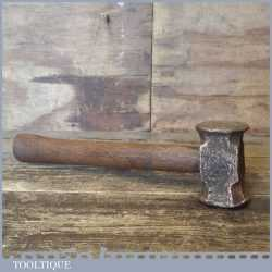 Vintage Copper Non Sparking Lump Hammer - Fair Condition
