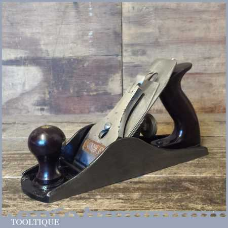 Modern Stanley England No: 4 ½ Wide Bodied Smoothing Plane - Fully Refurbished