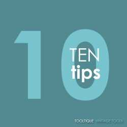 10 Beginners tips – How to think like a tradesman