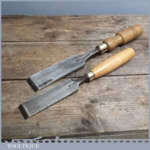 Two Superb Vintage Quality Firmer Chisels