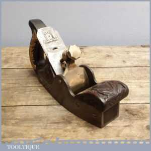Unusual Ornate Carved 19th Century Antique Infill Smoothing Plane