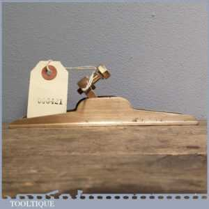Vintage Pattern Makers Brass Plane Casting - Woodworkers Infill & Shape Project