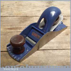 Vintage Record No 0110 Block Plane - Nice Old Woodworking Tool