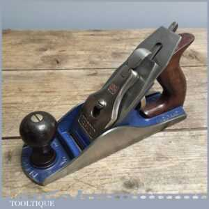 Vintage Record No. 4 Stay Set SS Smoothing Plane - Good Carpenters Tool