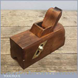 Vintage Sliding Box Chamfer Plane, Nice Old Woodworking Tool