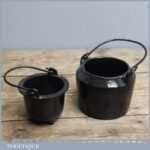Vintage T C & Clark Co Small Cast Iron Glue Pot