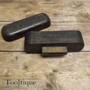 Vintage Washita Shaped Outer Gouge Honing Stone for Carving Chisels
