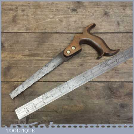 Rare Antique Keyhole Saw By Holland Of London Woodworking Tool